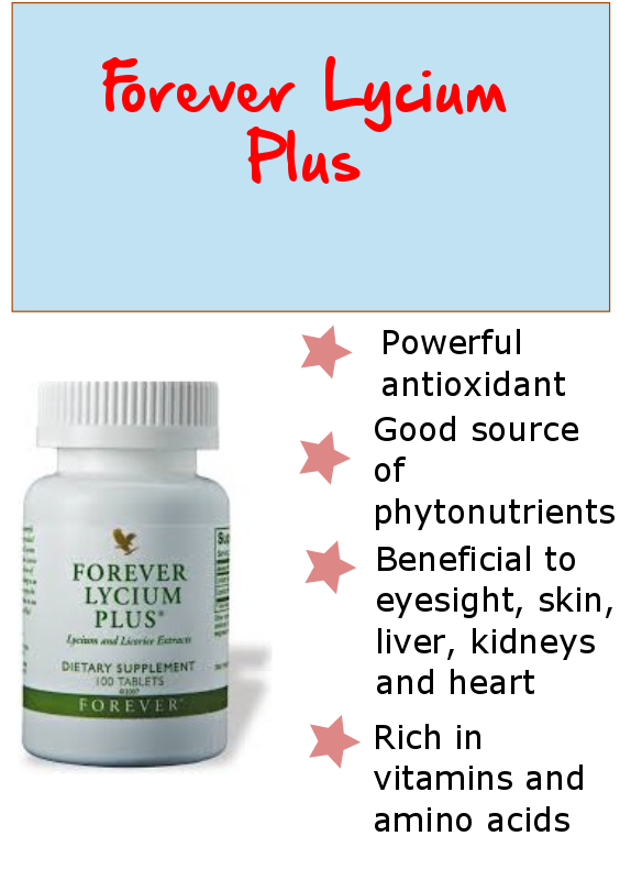 FOREVER LYCIUM PLUS   Forever living products, Forever living business, Forever living aloe vera