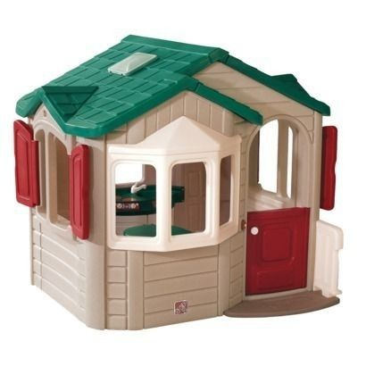 Step 2 Playhouse In Outdoor Toys Play Houses Build A Playhouse Kids Playhouse