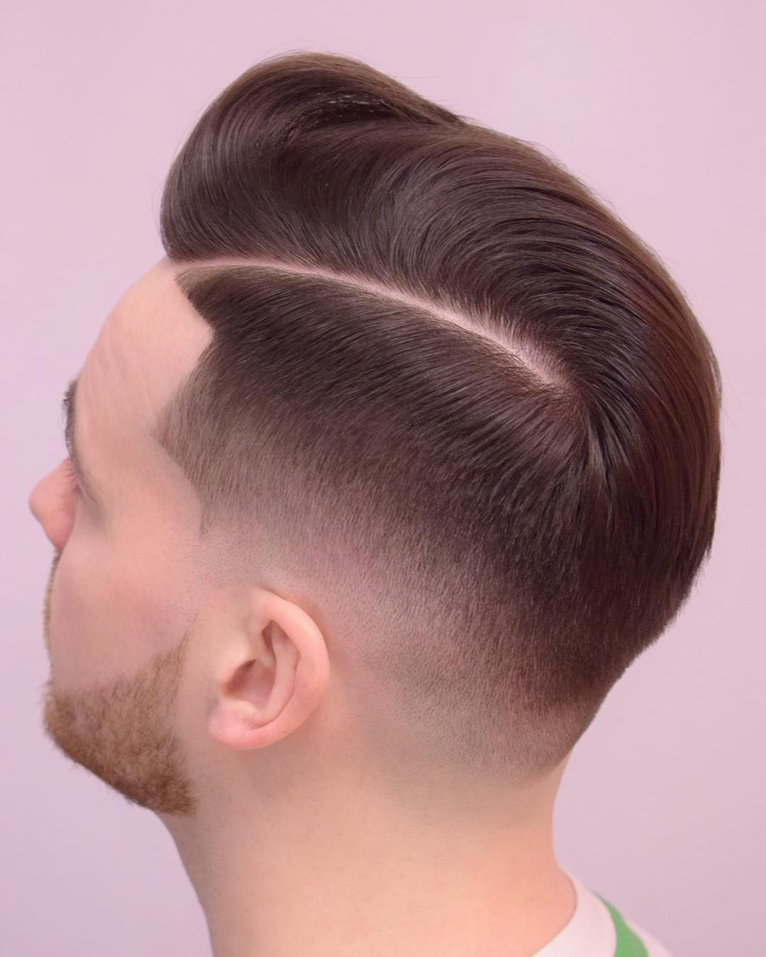 Classic Textured Hairstyles For Men ���รงผม