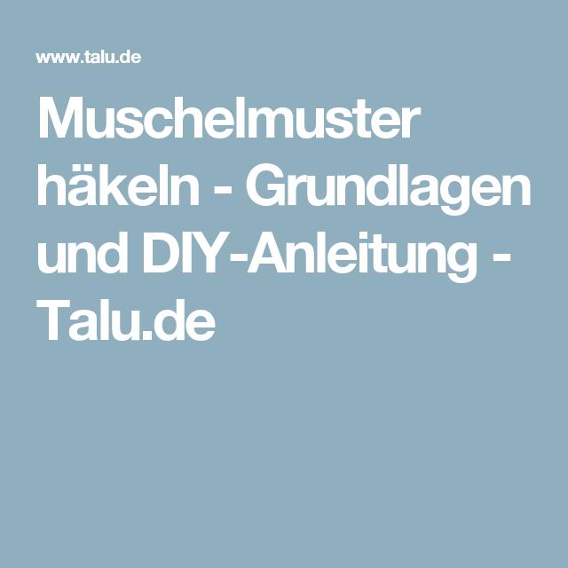 Muschelmuster Häkeln Grundlagen Und Diy Anleitung Mütze