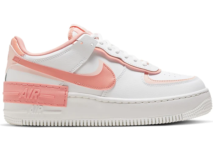 Nike Air Force 1 Shadow White Coral