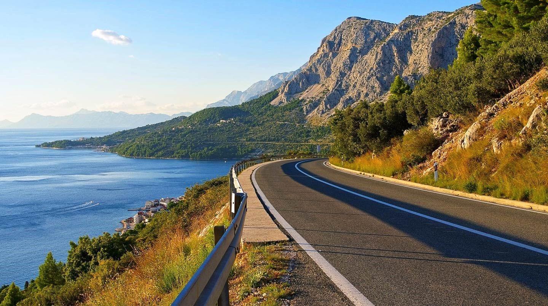 Adriatic Coastal Road Karlobag Croatia With Images