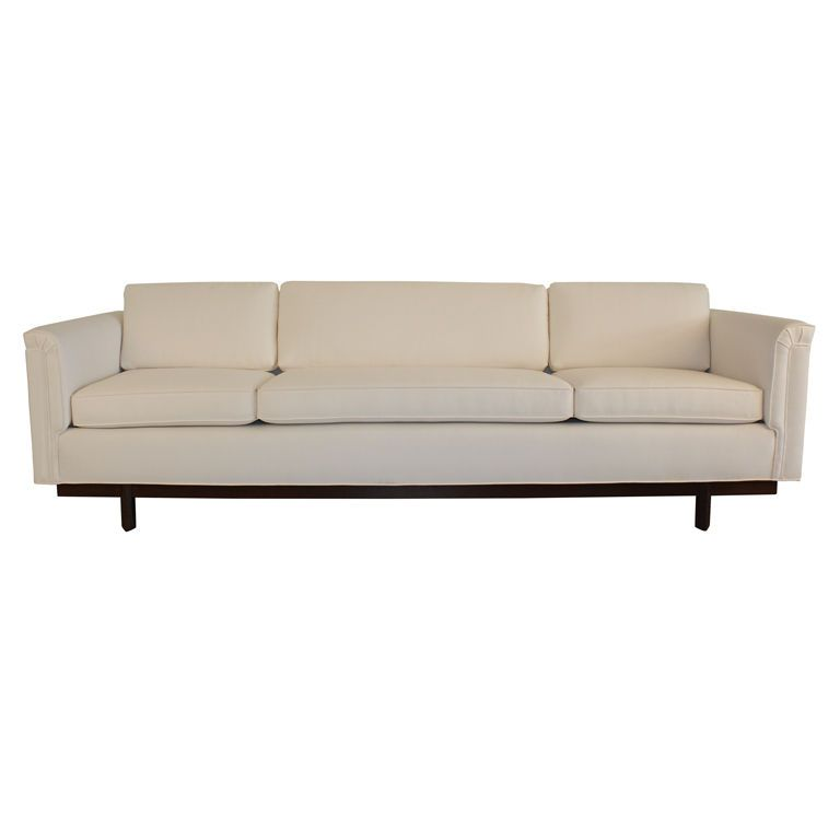 heritage henredon sofa by frank lloyd wright
