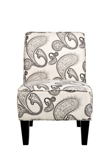 Attractive Angelo:HOME Dover Modern Charcoal And Cream Paisley Chair By Magdatunci