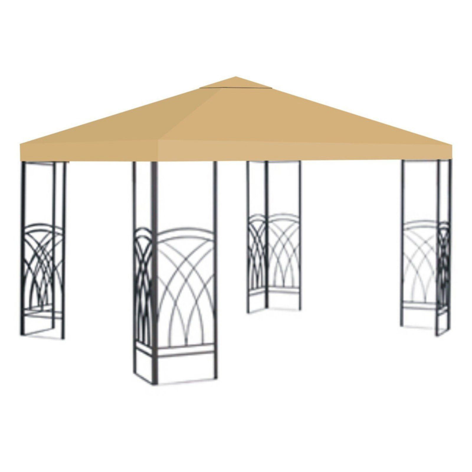 Sunrise 10 X 10 Ft Gazebo Replacement Canopy Cover Taupe Gazebo Replacement Canopy Replacement Canopy Canopy Outdoor