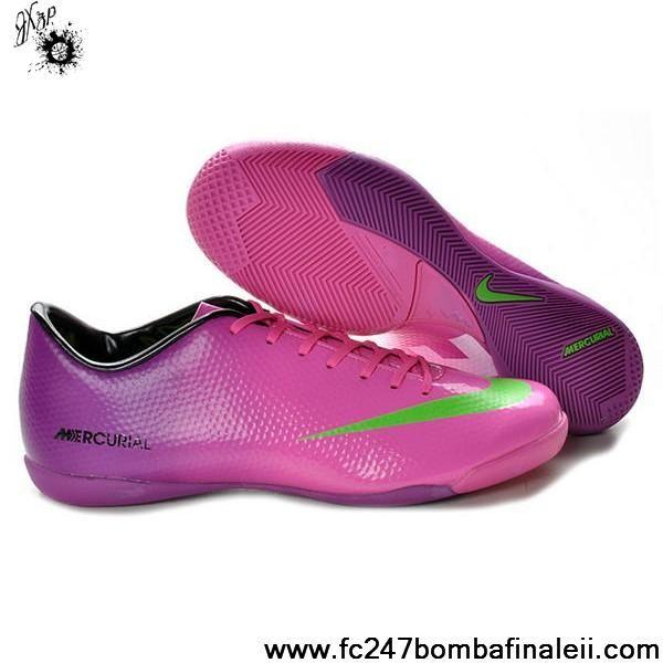 8d066d9e377a Best Gift Nike Mercurial Vapor IX IC Purple Pink Green