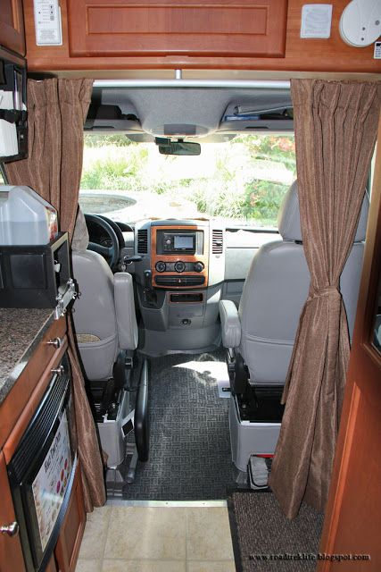 Privacy Curtain To Isolate Front Cab To The Rv Cabin Rv Curtains