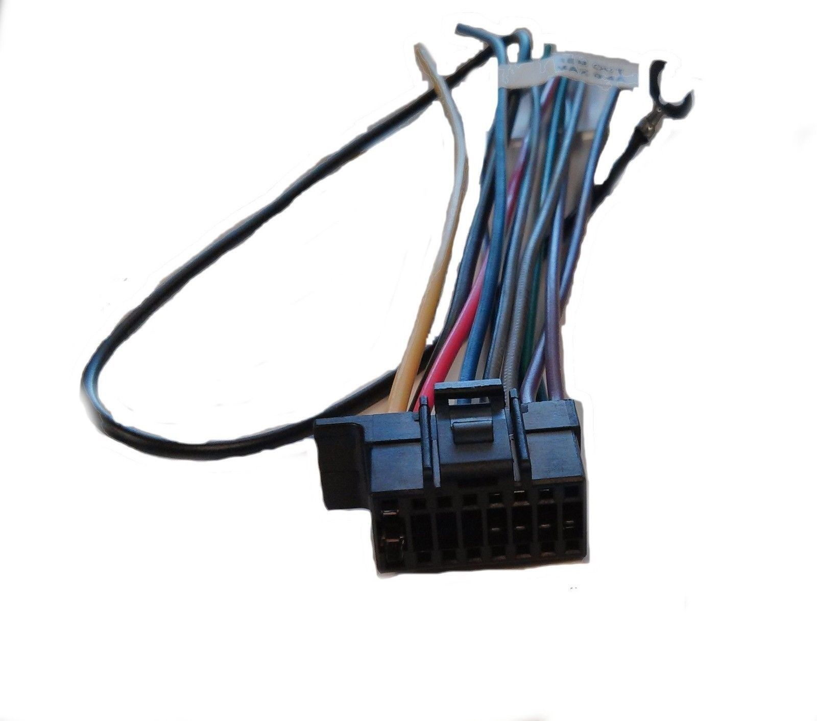 58 Sony Wire Harness Cdxgt270mp Cdxgt570up Mexbt3100p Mexbt31pw Cdx Gt270mp Ebay Electronics