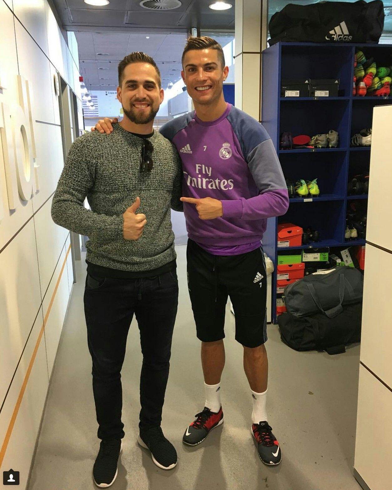 Ender Inciarte and Cristiano Ronaldo