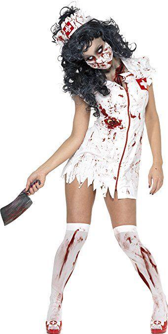 290e327a28 Smiffy s - Disfraz de zombi enfermera para mujer