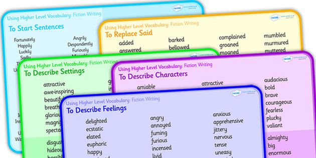 Using Higher Level Vocabulary Fiction Word Mat Pack - vocabulary