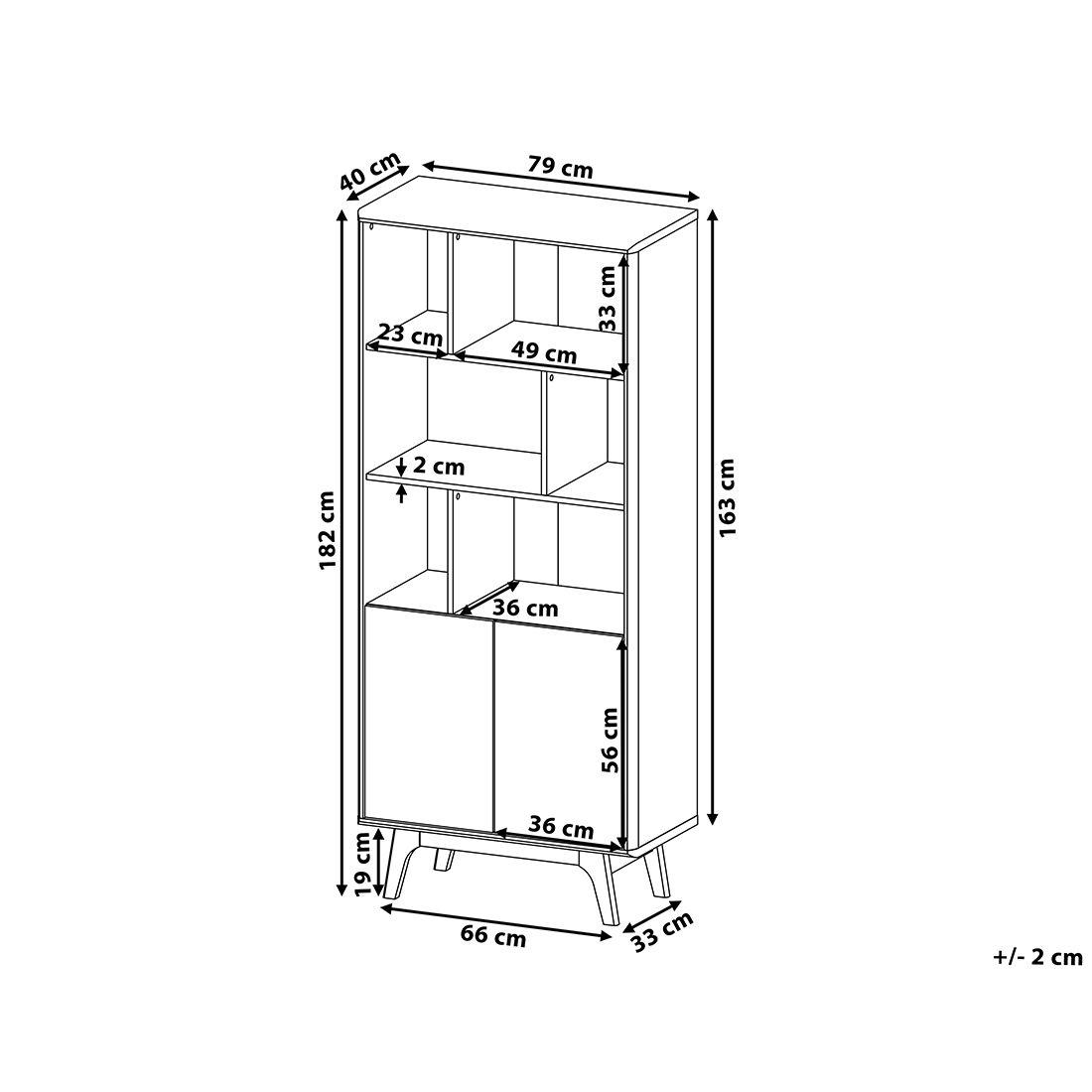 Photo of Ausgefallener Designer-Bücherschrank mit viel Stauraum