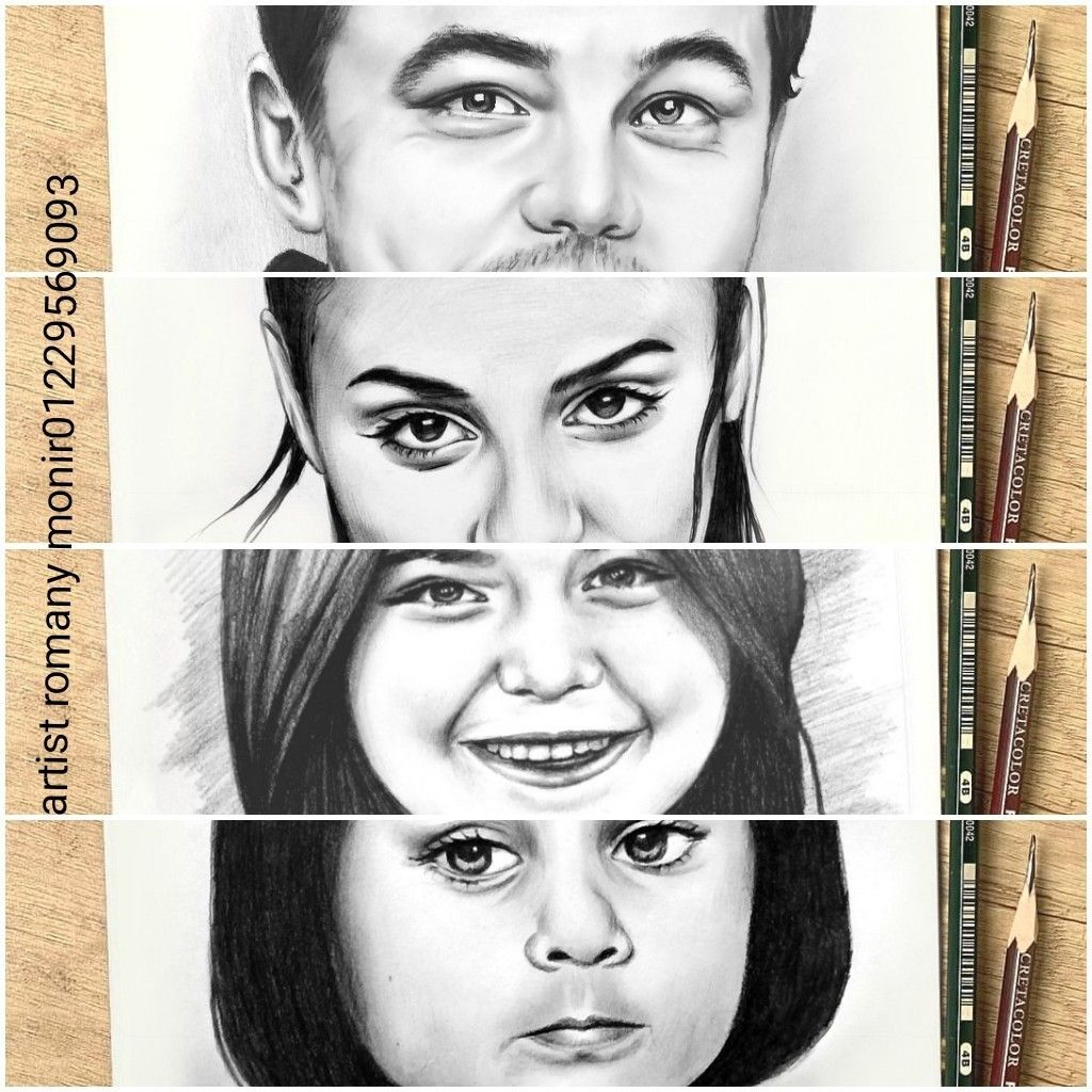 رسم بالرصاص Portrait Tattoo Portrait Tattoos