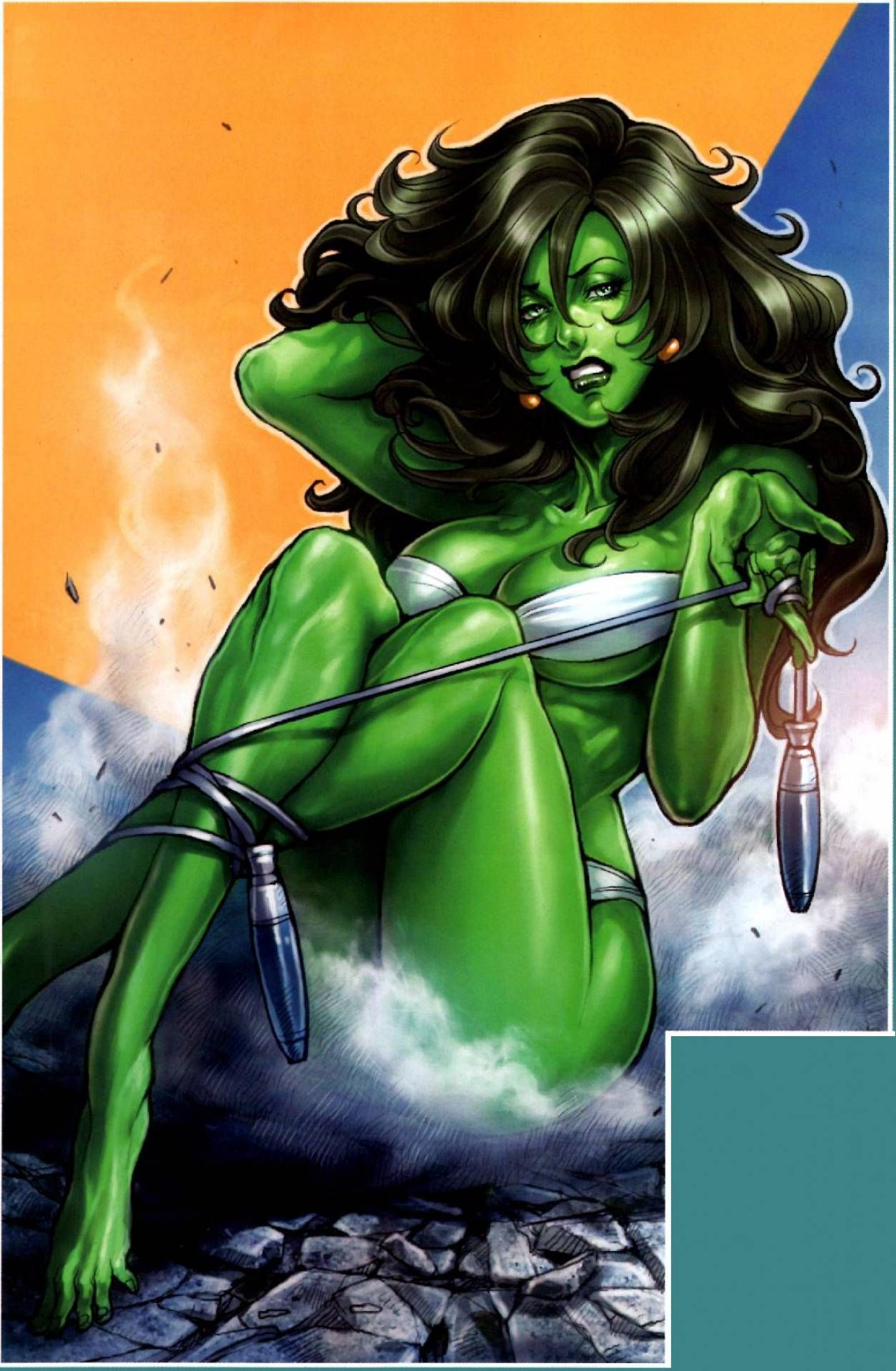 red she hulk hot