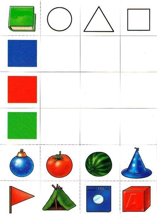 autismus arbeitsmaterial formen und farben sonstiges kindergarten formen mathe und vorschule. Black Bedroom Furniture Sets. Home Design Ideas