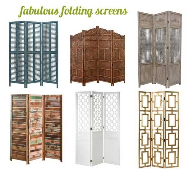Functional Fabulous Folding Screens Purpose Screens