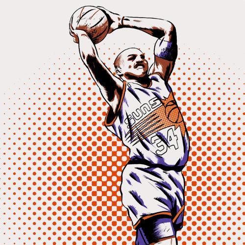 Charles Barkley NBA Basketball Phoenix Suns | Charles barkley, Nba basketball, Phoenix suns