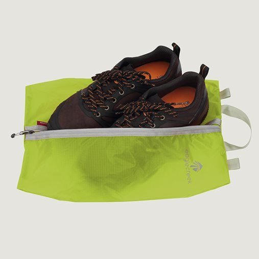 Ever want to protect your clean clothes from dirty shoes? Light as a feather, this zippered Shoe Sac is the simple ,Price - $18.00-LnXIiNFH