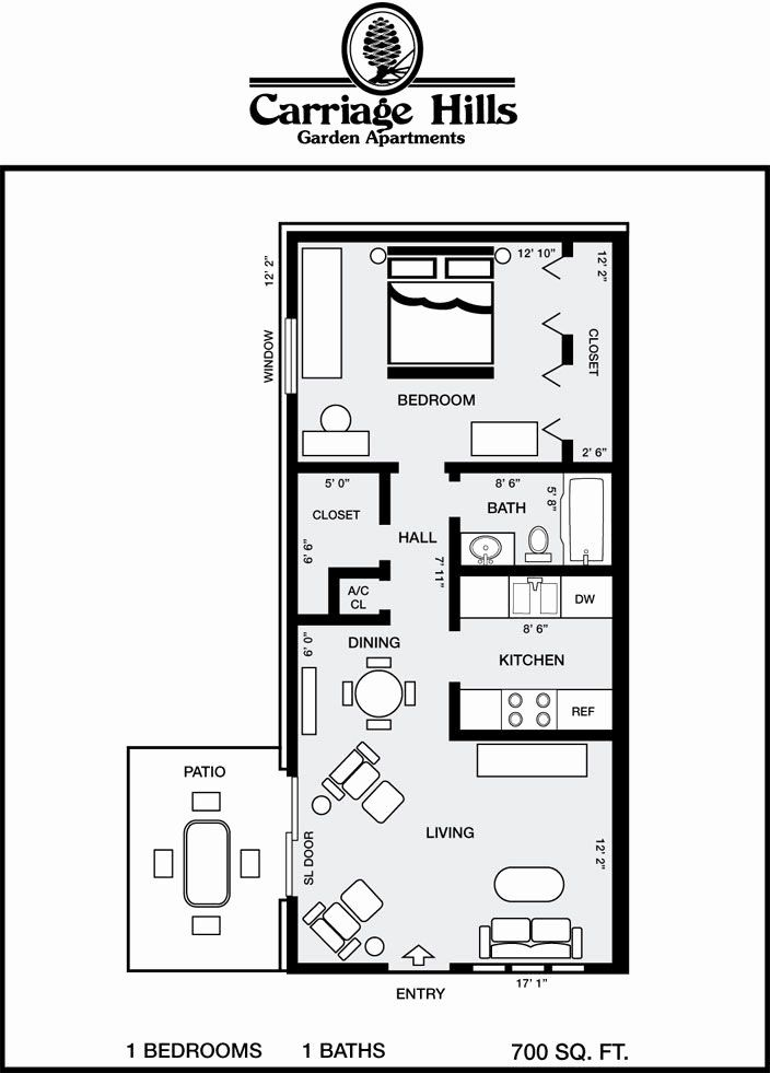 700 Sf House Plans Best Of Houses Under 700 Square Feet In 2020 Small Floor Plans Tiny House Floor Plans House Plans