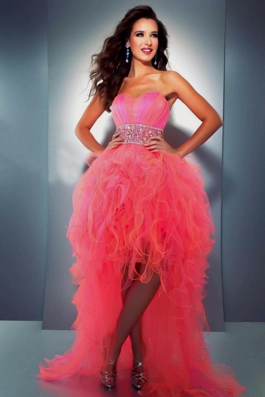 Quinceanera Dresses Neon Coral Neon Coral Quinceanera Dresses ...