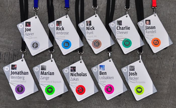 17 best ideas about conference badges on pinterest name badge template program design and name badges - Name Tag Design Ideas