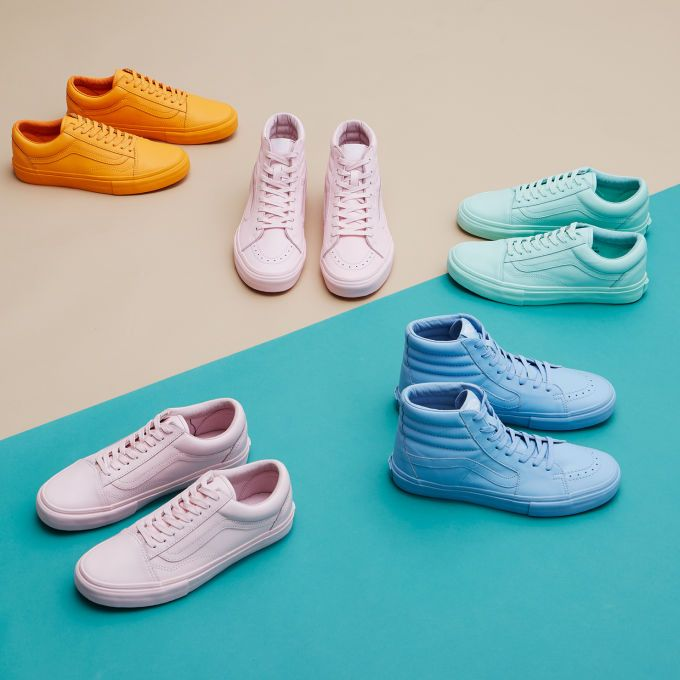 Vans and Opening Ceremony Partner on a Colorful Easter Pack. Pastel VansPhotography  TipsProduct PhotographyRubber ShoesCool ...