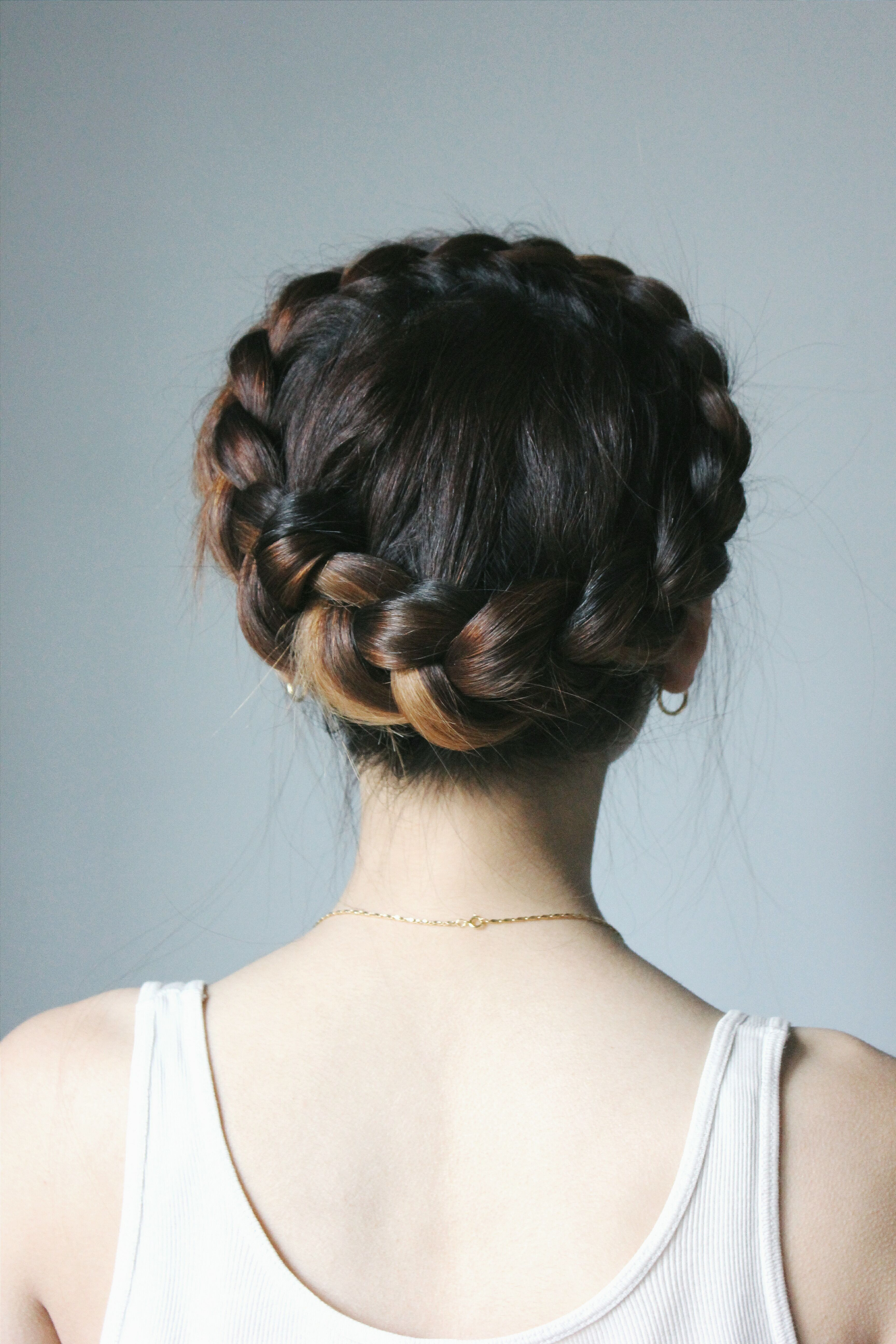 Dutch Crown Braid Braids For Short Hair Braided Hairstyles Crown Hairstyles