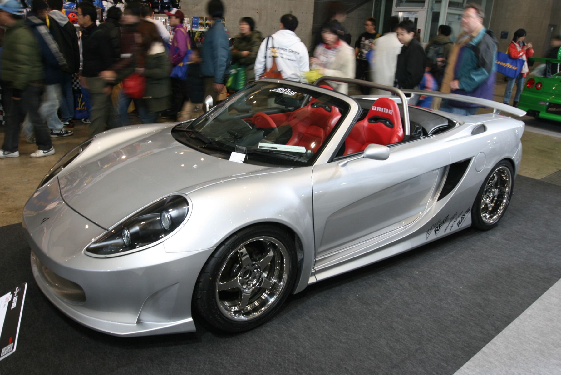Toyota - Spyder Ab Flug Mrx Body Kit 2gr V6