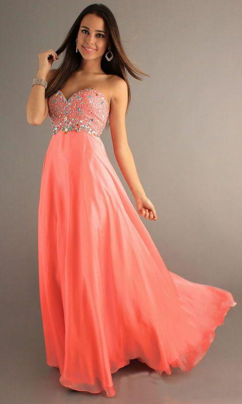 ★★2013 New Long Chiffon Beaded Evening Dress Prom Gown Wedding Bridesmaid Dress★