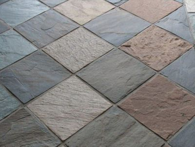 Multi Colored Slate Tiles
