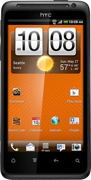 Boost Mobile - HTC EVO Design 4G No-Contract Mobile Phone - Black in Week of November 25, 2012 from Best Buy on shop.CatalogSpree.com, my personal digital mall.