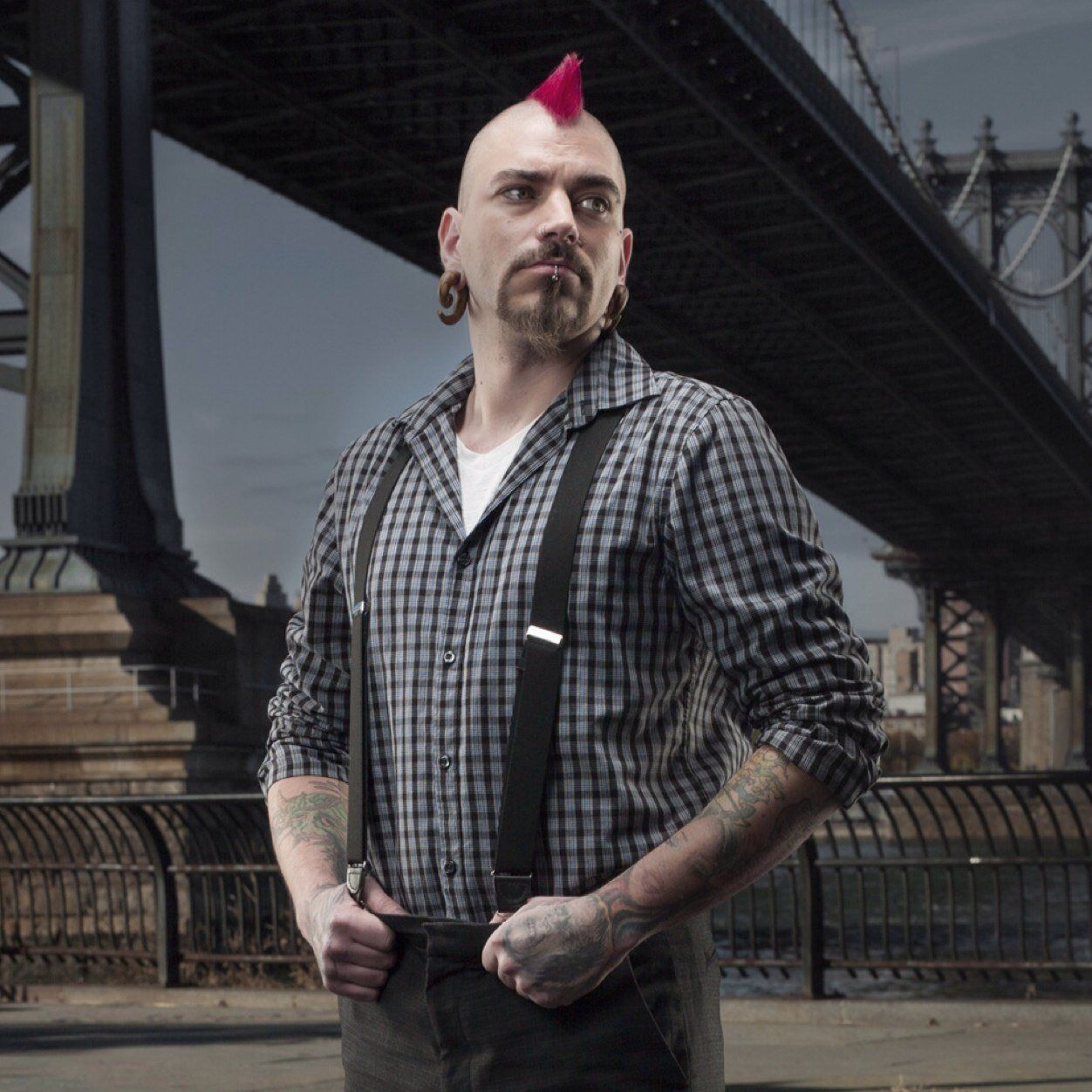 Matti Hixson From Spike S Ink Master Keeps His Mohawk