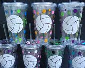 Volleyball, so making these if I get on the team next year!
