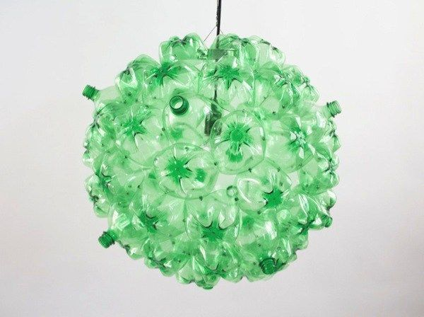 8bubble chandelier green by souda 7 re use plastic bottles plastic bottles 8bubble chandelier green by souda 7 mozeypictures Choice Image