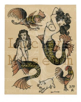 2fe856e58 Doc Forbes - 378A Old Tattoos, Pin Up Tattoos, Life Tattoos, Black Tattoos