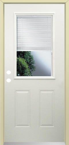Lt 10 With Blinds Prehung Steel Door 32 Exterior Doors Prehung Exterior Door Blinds