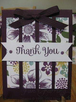 #papercrafting #cards idea: One Sheet Wonder Technique; Stampin' Up New 2014-2016 In-Colors; www.jansstampingcreations.com