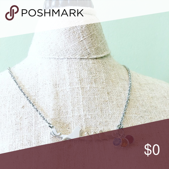 mother's necklace This item is sterling silver charm / stainless steel chain/ Swarovski crystal birthstones . Perfect gift for mom / Grammy / friend/ or yourself ! Each bird representing your precious little ones 💟 Message me for more details on your custom piece ! Jewelry Necklaces