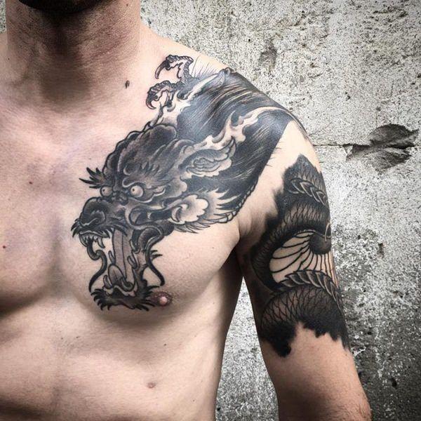 Photo of 89 inspirierende Kick-Ass Dragon Tattoo Designs zur Auswahl