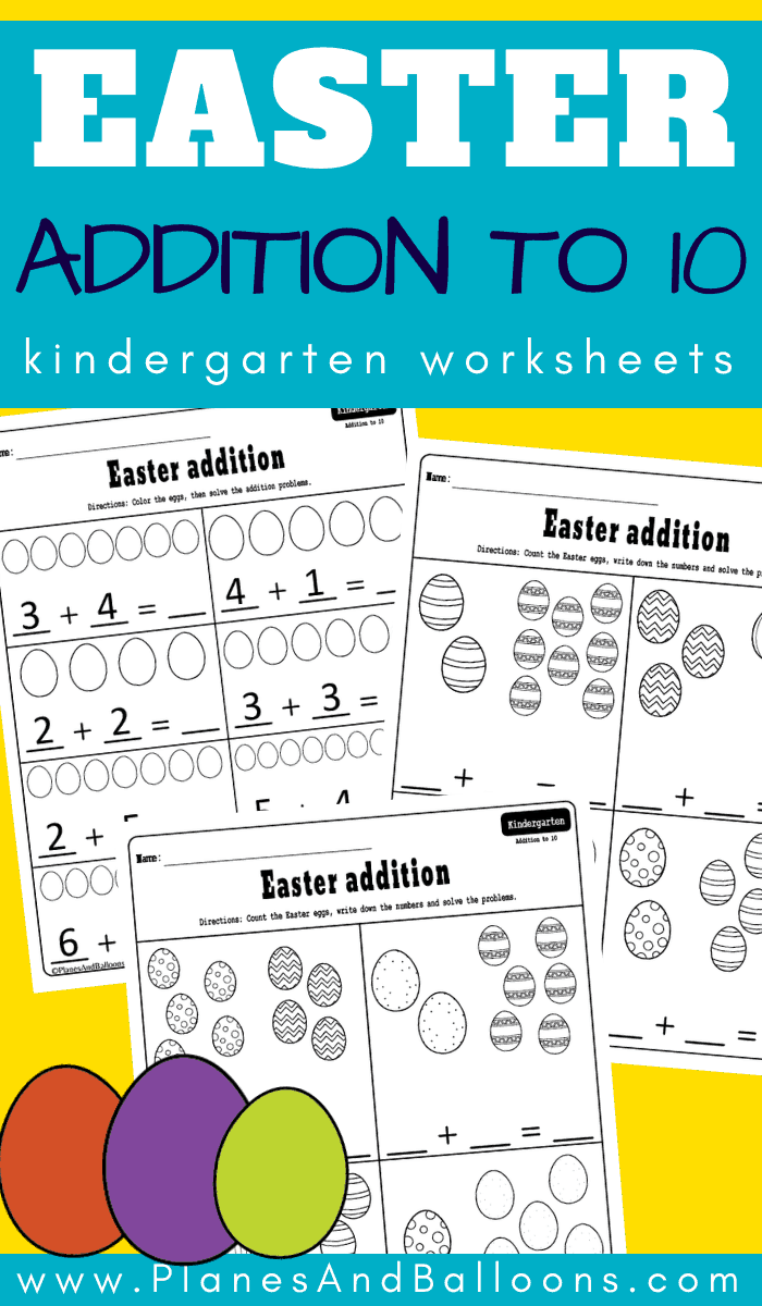 Easter Addition To 10 Worksheets Math Centers Kindergarten Kindergarten Worksheets Free Printables Kindergarten Worksheets [ 1200 x 700 Pixel ]