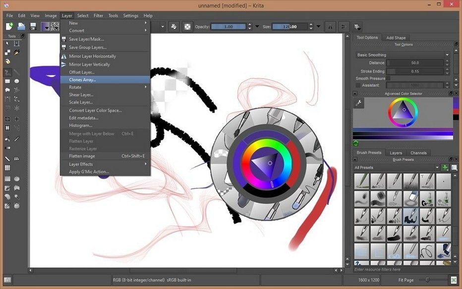 Krita 4.2.8 Download for Windows Photo retouching