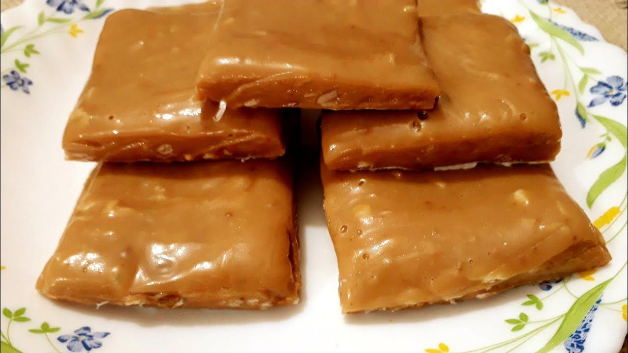 Milk Toffee Recipe Sri Lankan Milk Dessert Condensed Milk Toffee Salmin Recipes Blogs In 2020 Toffee Recipe Salmin Recipes Food Blog