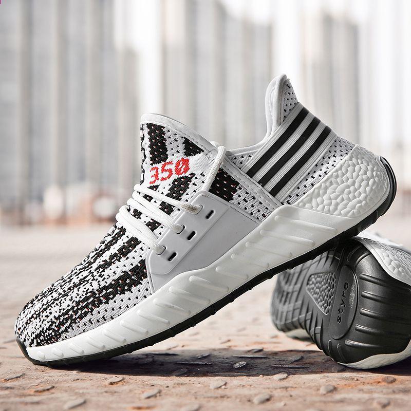 Fancihaway Hot Selling Buty Do Biegania Dla Mezczyzn Wygodne Amortyzacje Trampki Meskie 350v2 Gumowa Podeszwa Trwale Jogging But Adidas Sneakers Sneakers Shoes