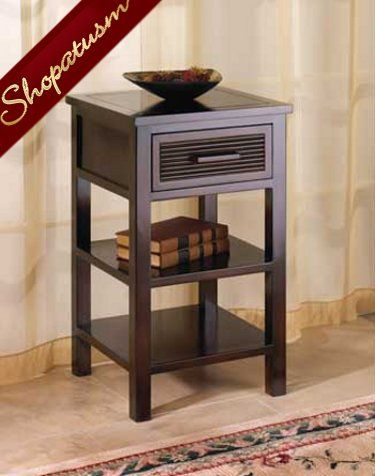 Santa Rosa Wood Side Table Night Stand Side Table Wood Modern Side Table Side Table With Drawer