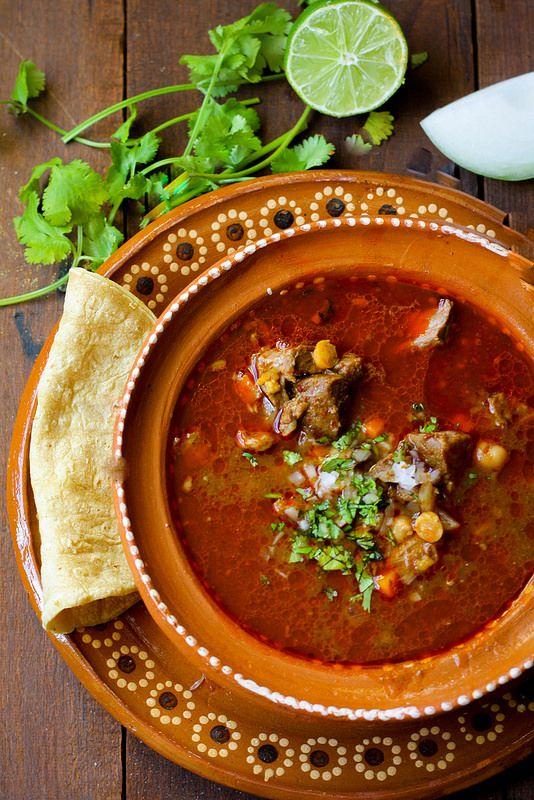 Consomé De Borrego Lamb Soup Flan And Apple Pie Soup Mexican