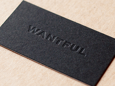 Dribbble Wantful Cards By Taylor Pemberton Business Card Design Creative Foil Business Cards Business Card Branding