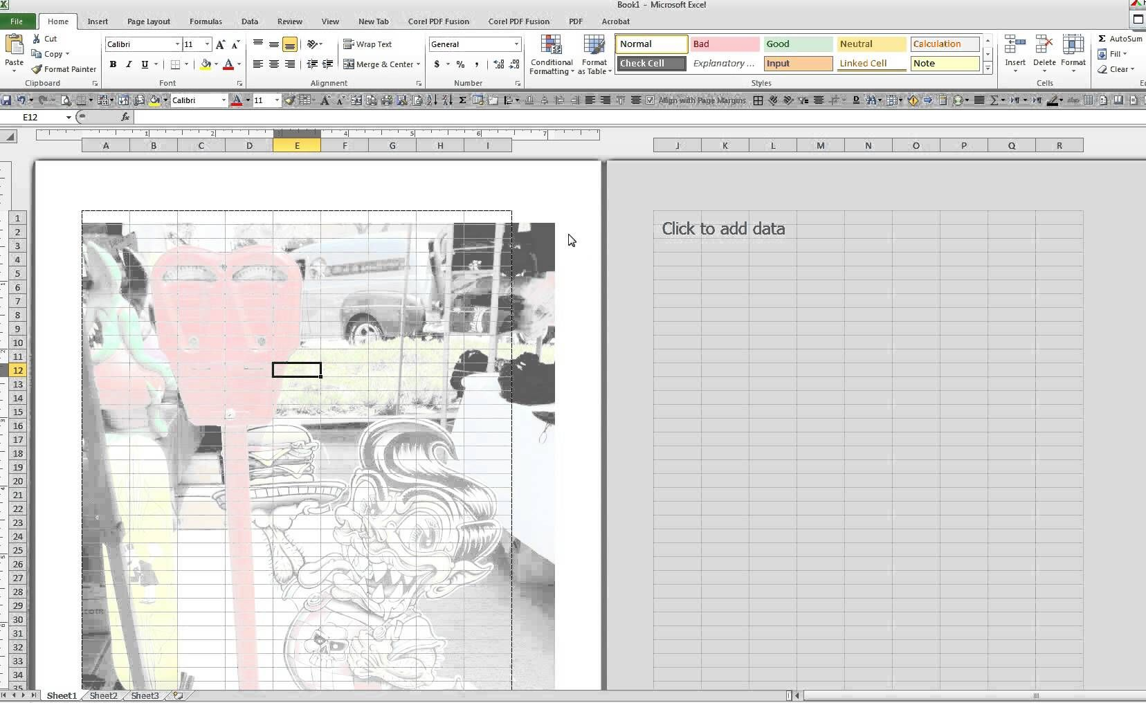 How To Place An Image As A Watermark In A Microsoft Excel