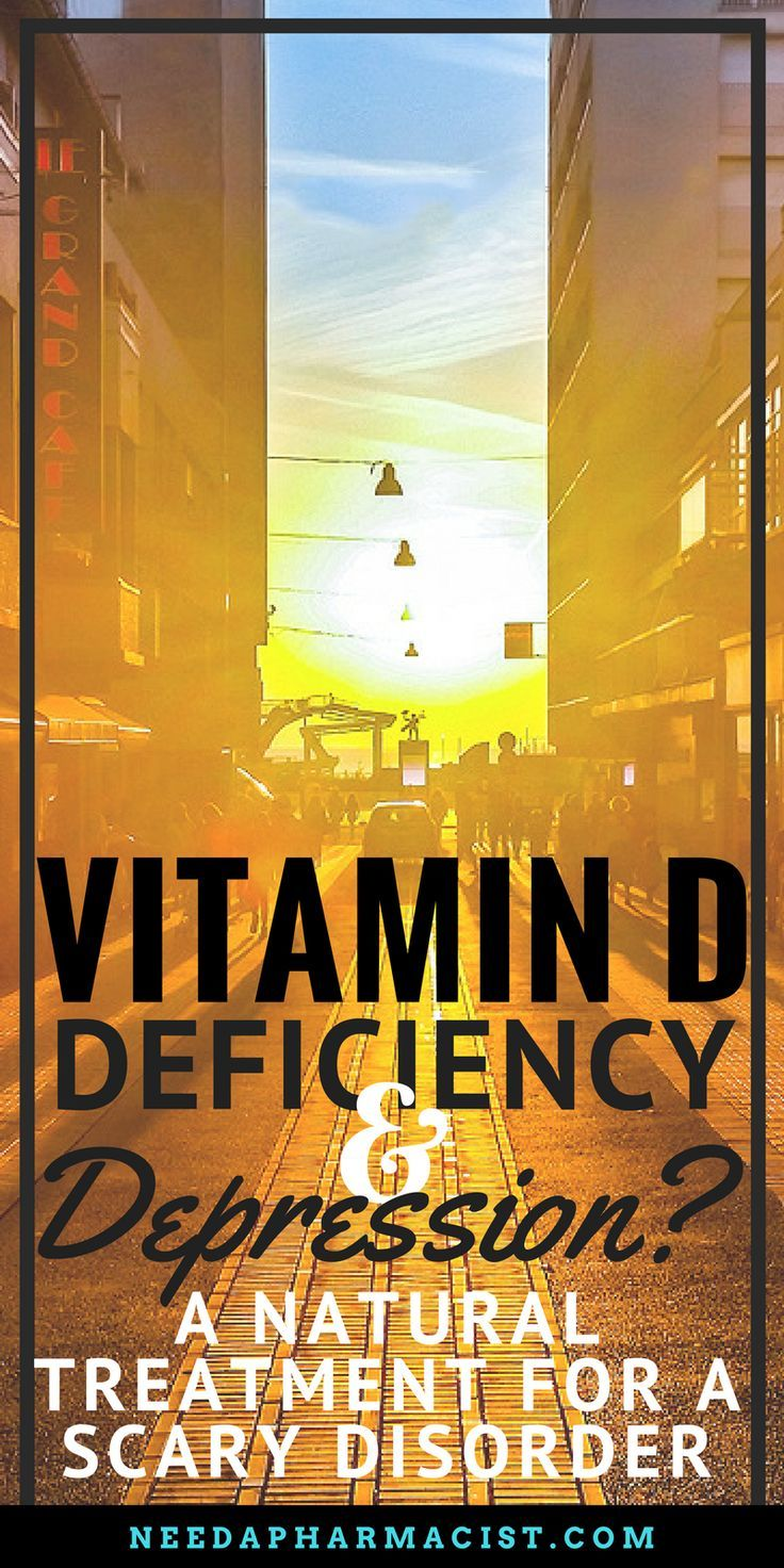 vitamin d deficiency & depression – a natural treatment for a scary