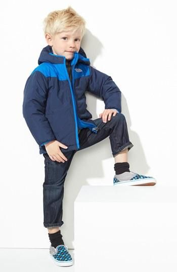 North face style for the little guy!