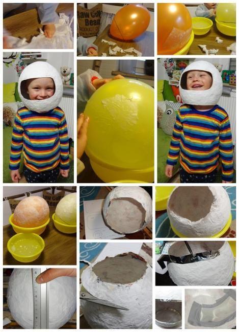 Anleitung: Astronauten-Helm | VBS Hobby Bastelshop